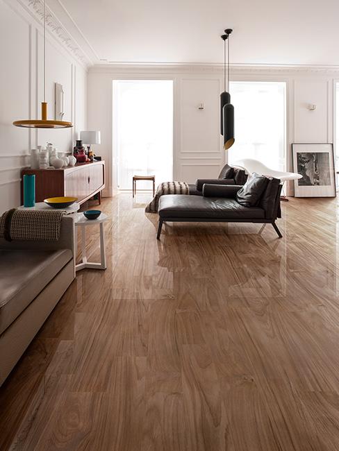 effetto legno lucido